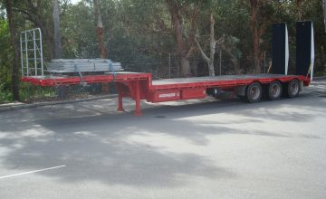 Drop Decks Semi Trailer